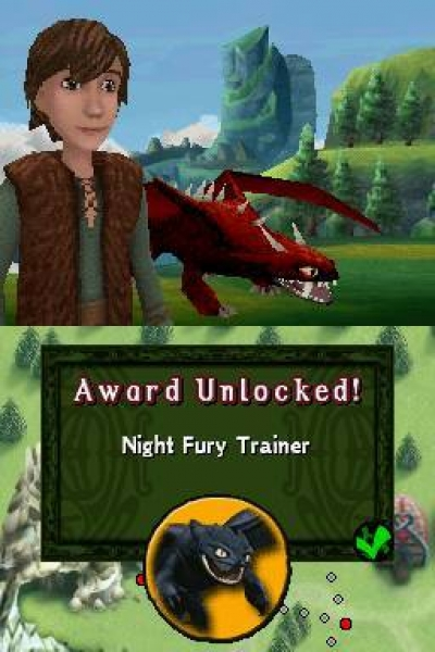 Screen ze hry How to Train Your Dragon