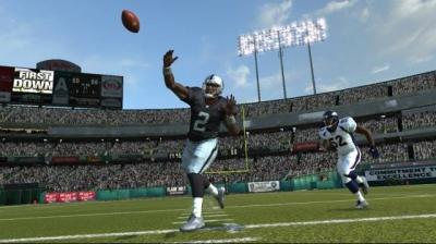 Screen ze hry Madden NFL 08