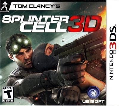 Obal hry Tom Clancy´s Splinter Cell 3D