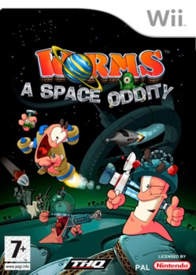 Obal hry Worms A Space Oddity
