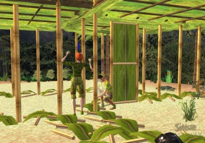 Screen ze hry The Sims 2: Castaway
