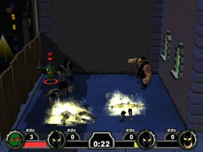 Screen ze hry Teenage Mutant Ninja Turtles 2: Battle Nexus