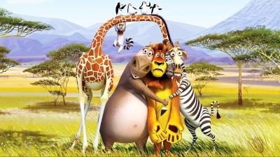 Artwork ke hře Madagascar