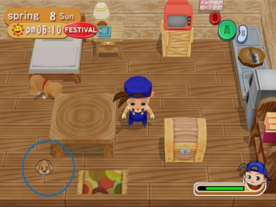 Screen ze hry Harvest Moon: Magical Melody