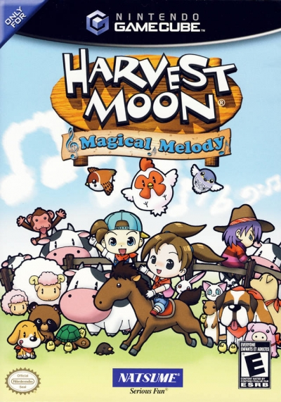 Obal hry Harvest Moon: Magical Melody