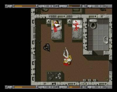 Screen ze hry Alien Breed: Tower Assault