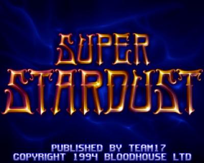 Screen ze hry Super Stardust