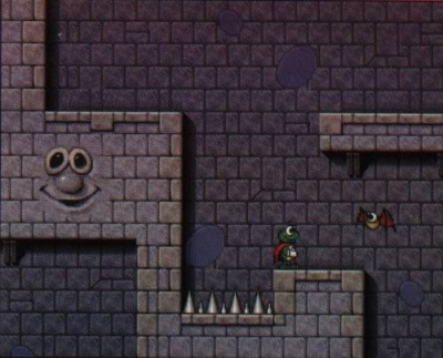 Screen ze hry Superfrog