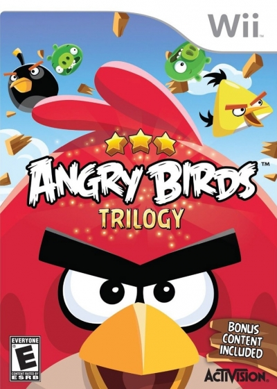 Obal hry Angry Birds Trilogy