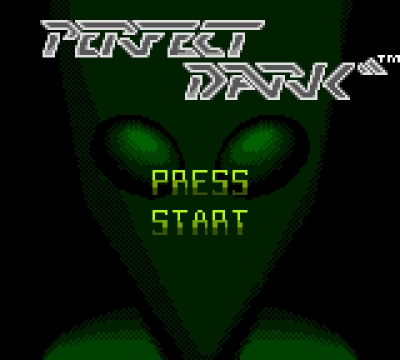 Screen ze hry Perfect Dark