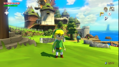 Screen ze hry The Legend of Zelda: The Wind Waker HD
