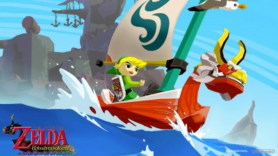 Artwork ke hře The Legend of Zelda: The Wind Waker HD