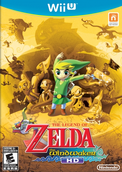 Obal hry The Legend of Zelda: The Wind Waker HD