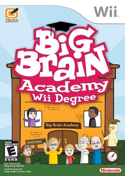Obal hry Big Brain Academy: Wii Degree