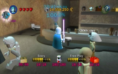 Screen ze hry LEGO Star Wars: The Complete Saga