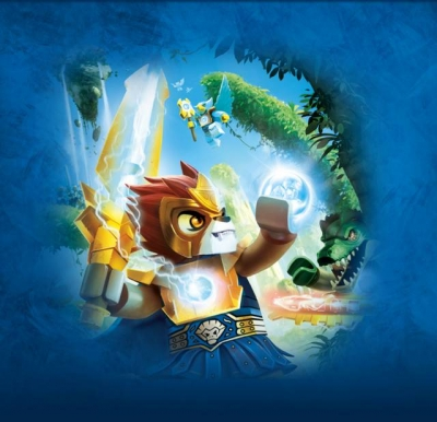 Artwork ke hře LEGO Legends of Chima: Laval´s Journey