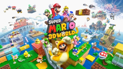 Artwork ke hře Super Mario 3D World