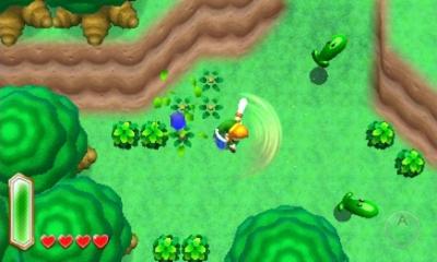 Screen ze hry The Legend of Zelda: A Link Between Worlds