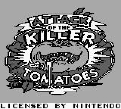 Screen ze hry Attack of the Killer Tomatoes
