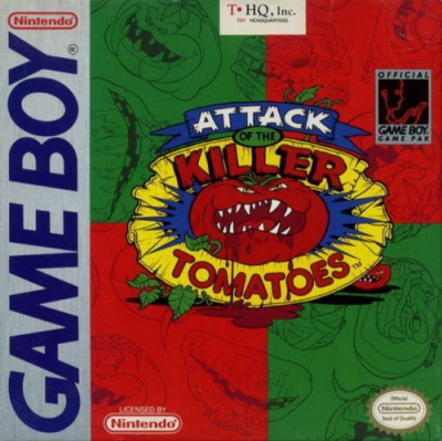 Obal hry Attack of the Killer Tomatoes