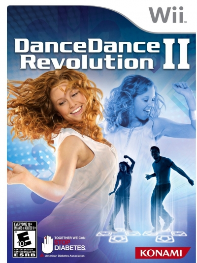 Obal hry Dance Dance Revolution II