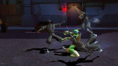 Screen ze hry Teenage Mutant Ninja Turtles