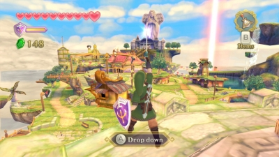 Screen ze hry 2011 The Legend of Zelda: Skyward Sword Collector´s Edition