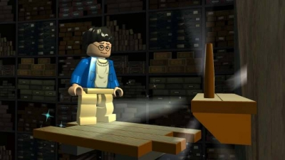 Screen ze hry LEGO Harry Potter: Years 1-4