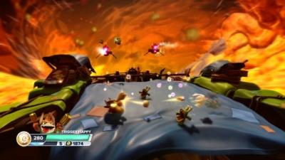 Screen ze hry Skylanders SWAP Force