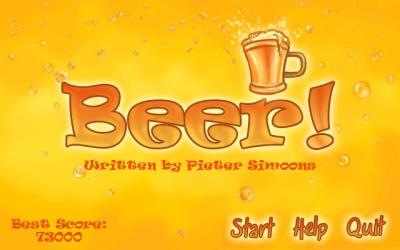 Screen ze hry Beer