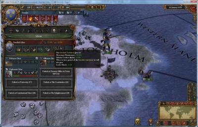 Screen ze hry Europa Universalis IV