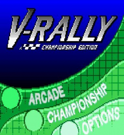 Screen ze hry V-Rally: Championship Edition
