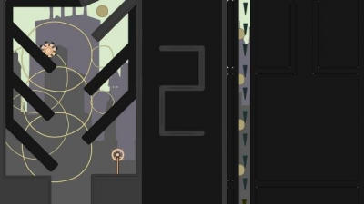 Screen ze hry Sound Shapes