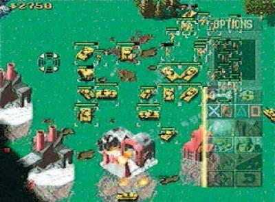 Screen Command & Conquer: Red Alert - Retaliation