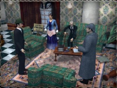 Screen Sherlock Holmes: The Mystery of the Mummy