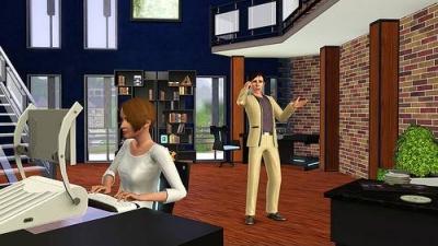 Screen ze hry Sims 3 High-End Loft Stuff