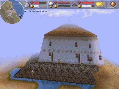 Screen ze hry Magic Carpet