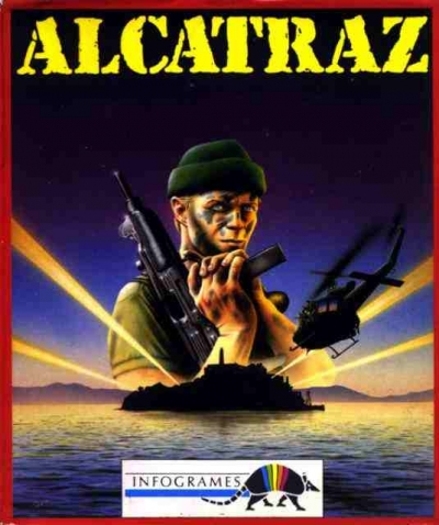 Obal hry Alcatraz