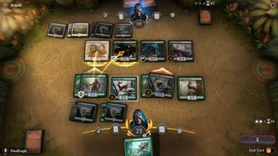 Artwork ke hře Magic: the Gathering Arena