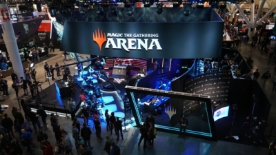 Screen ze hry Magic: the Gathering Arena