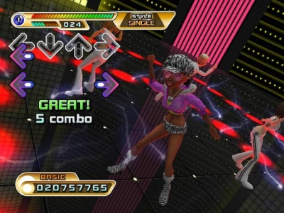 Screen ze hry Dance Dance Revolution Hottest Party 2