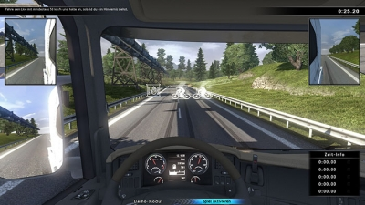 Screen Scania Truck Driving Simulator