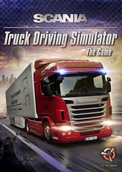 Screen Scania Truck Driving Simulator
