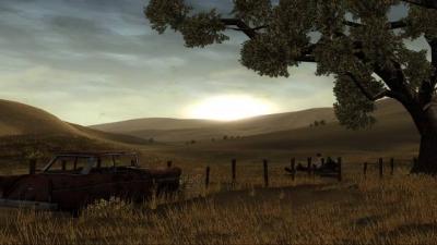 Screen ze hry The Walking Dead