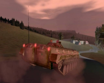 Artwork ke hře ArmA: Cold War Assault