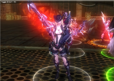 Screen ze hry Atlantica Online