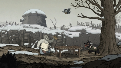 Screen ze hry Valiant Hearts: The Great War
