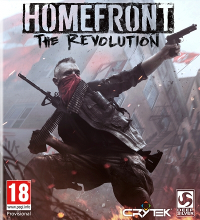 Artwork ke hře Homefront: The Revolution