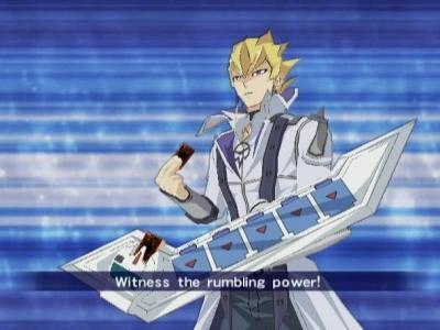 Screen ze hry Yu-Gi-Oh! 5D´s Duel Transer