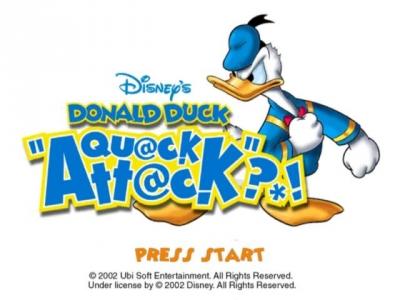 Screen ze hry Donald Duck: Goin´ Quackers